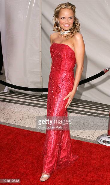 Kristin Chenoweth during Placido Domingo Friends Concert Gala at Dorothy Chandler Pavilion in Los Angeles CA United States
