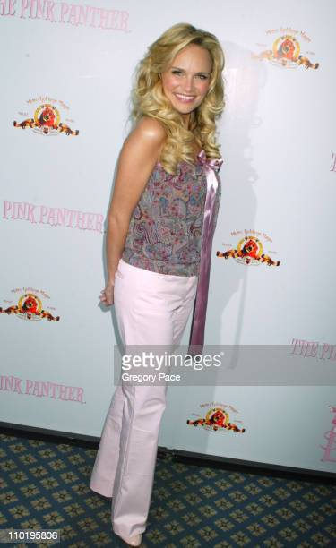 Kristin Chenoweth during Press Conference to Announce the Beginning of Production for the New 'Pink Panther' May 7 2004 at The Waldorf Astoria in New...