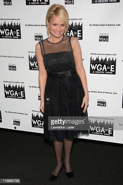 Kristin Chenoweth during The 59th Annual Writers Guild Awards Arrivals at The Hudson Theater in New York City New York United States