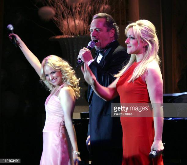 Kristin Chenoweth Tom Wopat and Jane Krakowski during Manhattan Theater Club Annual Winter Gala 'An Intimate Night' at The Plaza Hotel in New York...