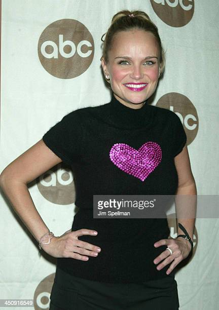 Kristin Chenoweth wearing Betsey Johnson Sweater during World Premiere of the ABC Original Made for Television Motion Picture Meredith Willson's The...