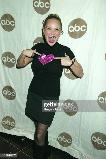 Kristin Chenoweth who stars in the movie wearing a Betsey Johnson top and Theory skirt