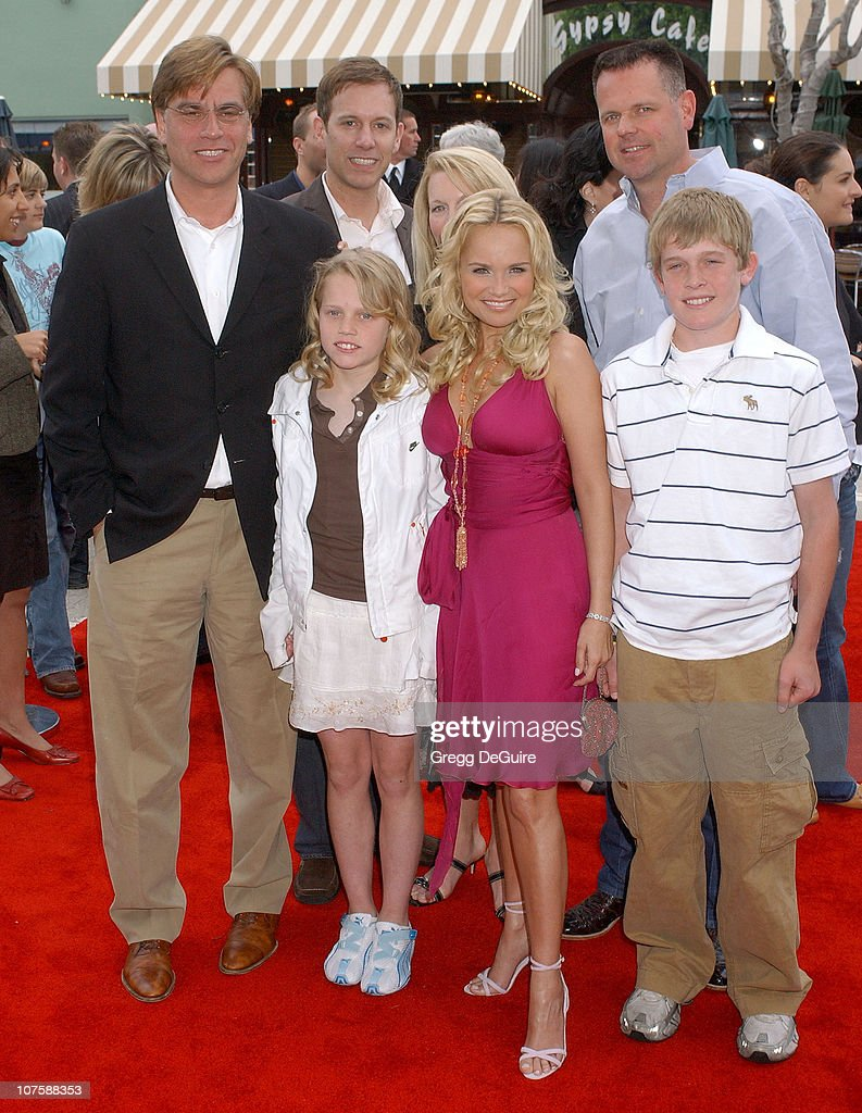 Kristin Chenoweth with family members and Aaron Sorkin