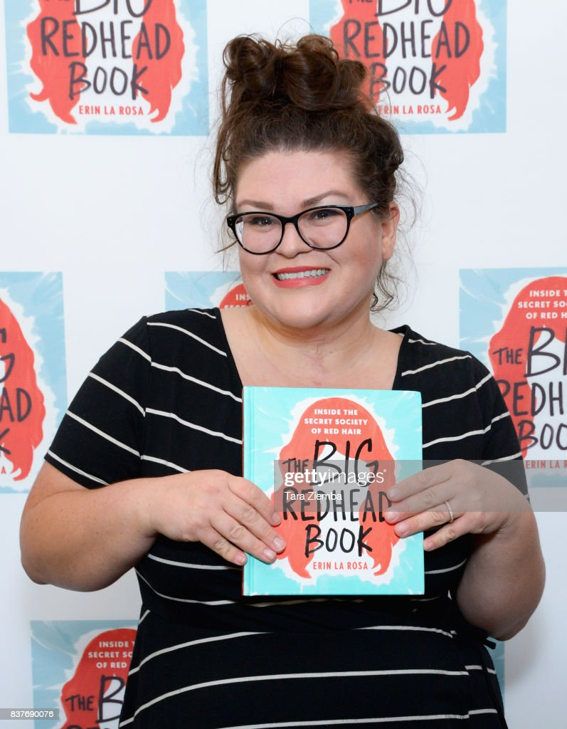 Kristin Chirico, senior editor at Buzzfeed, attends the book launch celebration for Erin La Rosa's 'The Big Redhead Book' at Blushington on August 22, 2017 in West Hollywood, California.