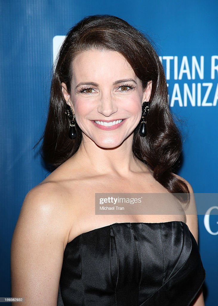 Kristin Davis arrives at the 2nd Annual Sean Penn & Friends 'Help Haiti Home' held at Montage Hotel on January 12, 2013 in Los Angeles, California.
