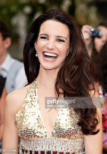 Kristin Davis Arrives At The Uk Film Premiere Of 'Sex And The City 2' At Odeon Leicester Square On May 27 2010 In London England