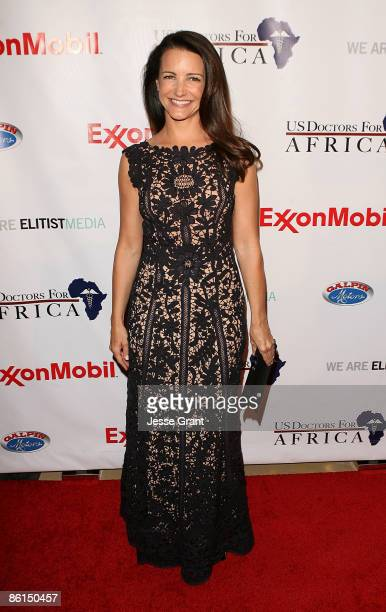 Kristin Davis attends the 1st Historic Health Summit Gala held at the Beverly Hilton Hotel on April 21 2009 in Beverly Hills California