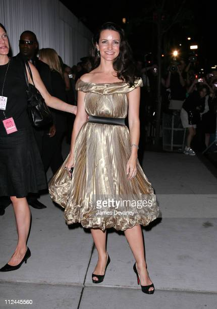 Kristin Davis attends the after party of the premiere of 'Sex and the City The Movie' at the Museum of Modern Art on May 27 2008 in New York City