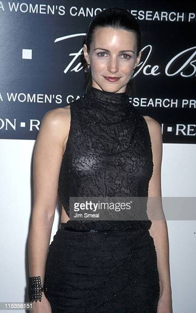 Kristin Davis during 10th Annual Fire and Ice Ball to Benefit Revlon UCLA Women Cancer Center at Beverly Hilton Hotel in Beverly Hills California...