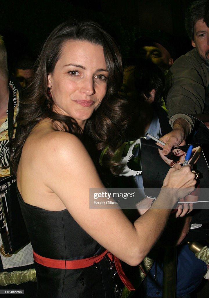 Kristin Davis during 2005 Screen Actors Guild Awards - HBO Post SAG Awards Dinner at Spago Restaurant in Beverly Hills, California, United States.