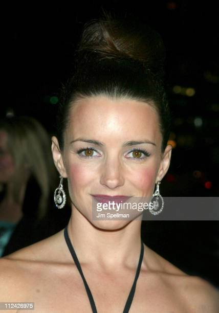 Kristin Davis during amfAR Benefit Evening Honoring Richard Gere Lorne Michaels and Anna Wintour Arrivals at Cipriani's 42nd St in New York City New...