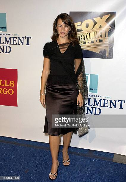 Kristin Davis during Fulfillment Fund Celebrates 25th Anniversary with 'Stars 2002' Benefit Gala Honoring Sheri Les Biller and Megan Peter Chernin at...