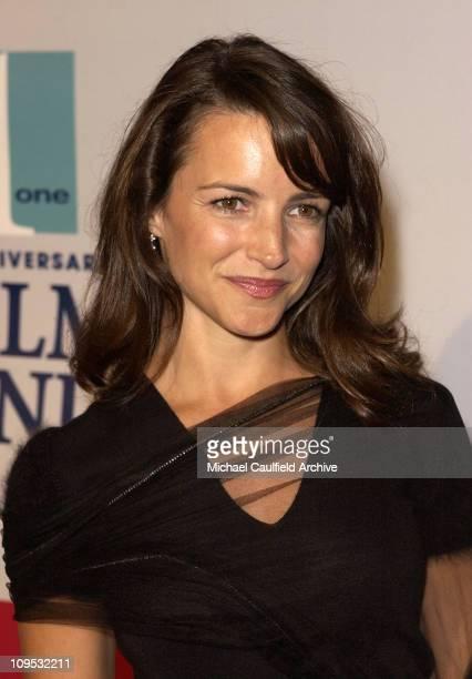 Kristin Davis during Fulfillment Fund Celebrates 25th Anniversary with 'Stars 2002' Benefit Gala Honoring Sheri Les Biller and Megan Peter Chernin at...