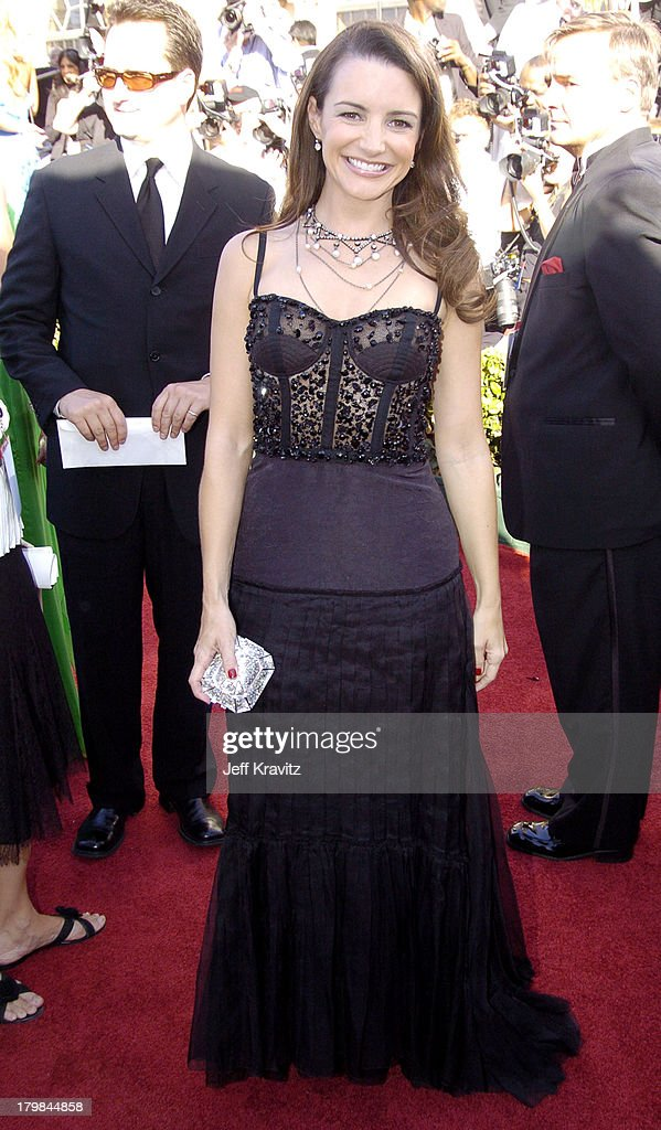 Kristin Davis during The 56th Annual Primetime Emmy Awards Red Carpet at The Shrine Auditorium in Los Angeles California United States