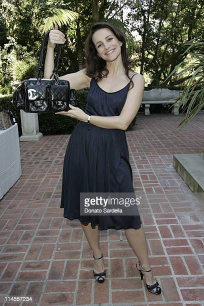 Kristin Davis during Third Annual Bag Lunch Benefiting PS Arts at Private House in Beverly Hills California United States