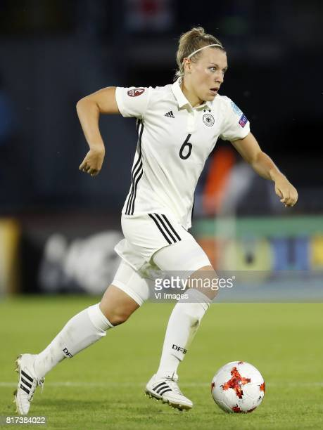 Kristin Demann of Germany women during the UEFA WEURO 2017 Group B group stage match between Germany and Sweden at the Rat Verlegh stadium on July 17...