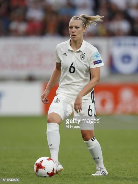 Kristin Demann of Germany women during the UEFA WEURO 2017 Group B group stage match between Germany and Italy at Koning Willem II stadium on July 21...