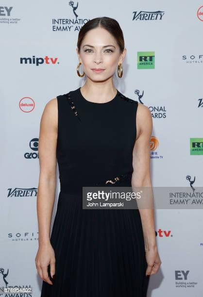 Kristin Kreuk attends 45th International Emmy Awards at New York Hilton on November 20 2017 in New York City