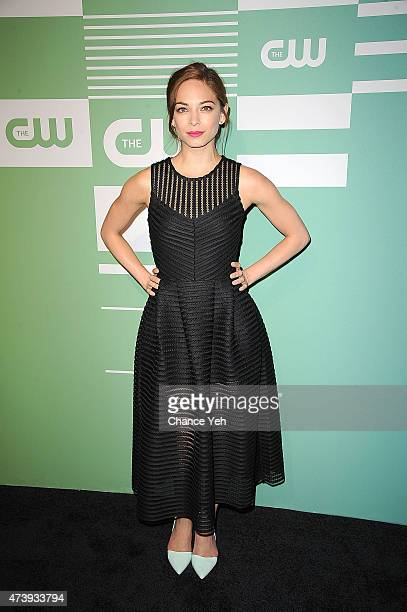 Kristin Kreuk attends The CW Network's New York 2015 Upfront Presentation at The London Hotel on May 14 2015 in New York City