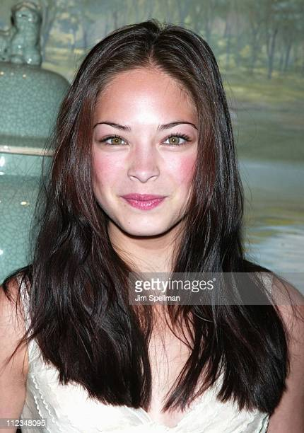 Kristin Kreuk during The WB Introduces Its 20022003 Schedule at New York Sheraton in New York City New York United States
