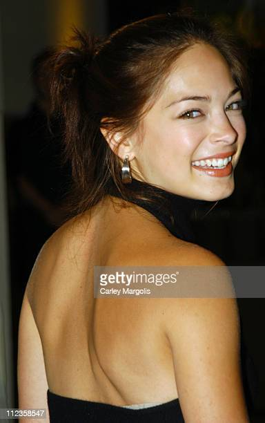 Kristin Kreuk during USA Network Celebrates the Opening of the 2004 US Open at ACES Restaurant at Arthur Ashe Stadium in New York City New York...
