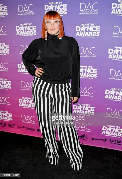 Kristin McQuaid attends the 2017 Industry Dance Awards and Cancer Benefit Show at Avalon on August 16 2017 in Hollywood California