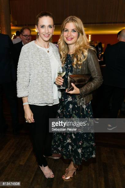 Kristin Meyer and Susan Sideropoulos attend the summer party 2017 of the German Producers Alliance on July 12 2017 in Berlin Germany
