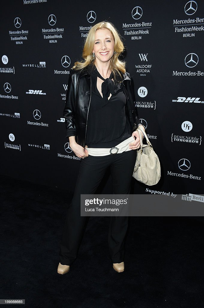 Kristin Meyer attends Minx By Eva Lutz Autumn/Winter 2013/14 fashion show during Mercedes-Benz Fashion Week Berlin at Brandenburg Gate on January 16, 2013 in Berlin, Germany.