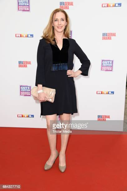 Kristin Meyer attends the 25th anniversary party of the TV show 'GZSZ' on May 17 2017 in Berlin Germany