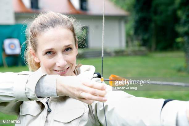Kristin Meyer attends the Till Demtroeders CharityEvent 'Usedom Cross Country' at Schloss Mellenthin on September 9 2017 near Heringsdorf at Usedom...