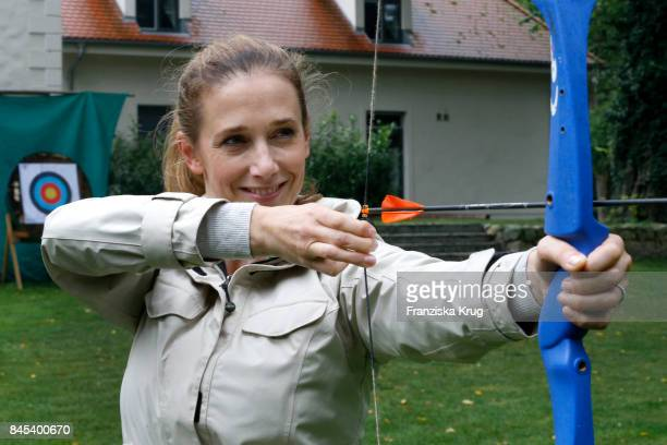 Kristin Meyer attends the Till Demtroeders CharityEvent 'Usedom Cross Country' on September 9 2017 near Heringsdorf at Usedom Germany