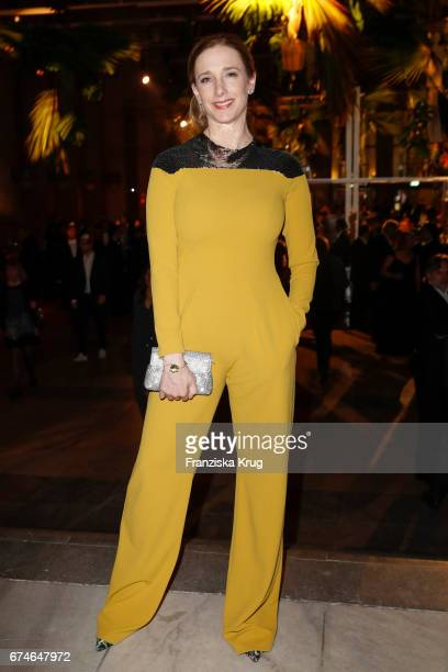 Kristin Meyer during the Lola German Film Award party at Messe Berlin on April 28 2017 in Berlin Germany
