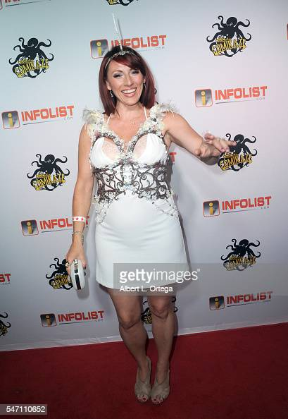 Kristin Nedopak arrives for the INFOLISTcom's Annual PreComicCon Party held at OHM Nightclub on July 12 2016 in Hollywood California