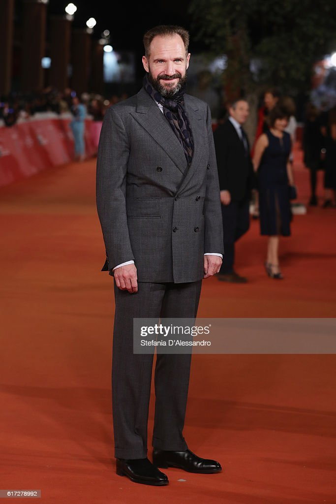 Kristin Ralph Fiennes walks a red carpet for 'The English Patient - Il Paziente Inglese' during the 11th Rome Film Festival at Auditorium Parco Della Musica on October 22, 2016 in Rome, Italy.