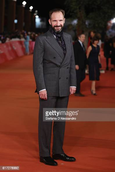 Kristin Ralph Fiennes walks a red carpet for 'The English Patient Il Paziente Inglese' during the 11th Rome Film Festival at Auditorium Parco Della...