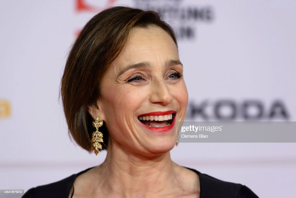 <a gi-track='captionPersonalityLinkClicked' href=/galleries/search?phrase=Kristin+Scott+Thomas&family=editorial&specificpeople=203290 ng-click='$event.stopPropagation()'>Kristin Scott Thomas</a> attends the European Film Awards 2013 on December 7, 2013 in Berlin, Germany.