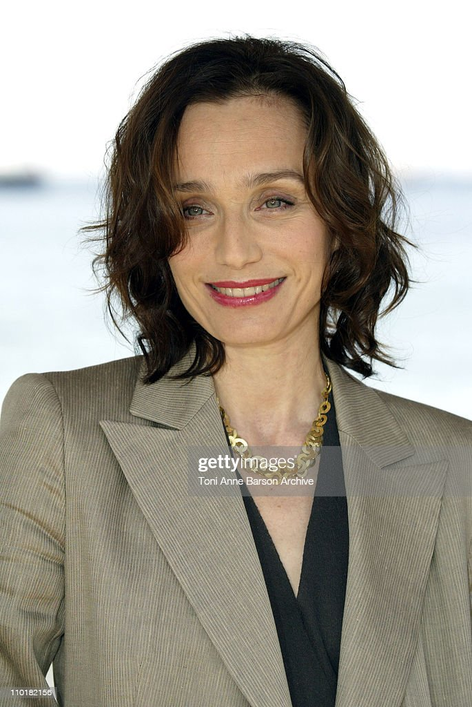 2003 Cannes Film Festival - Kristin Scott Thomas Photo Call