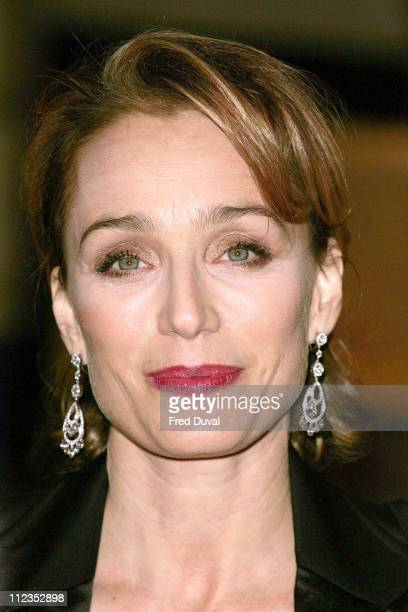 Kristin Scott Thomas during 'Keeping Mum' London Premiere at Vue Cinema Leicester Square in London Great Britain