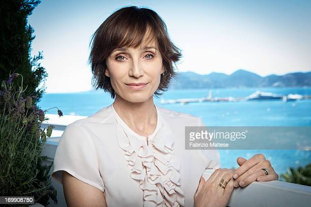 Kristin Scott Thomas is photographed for Self Assignment on May 20 2013 in Cannes France