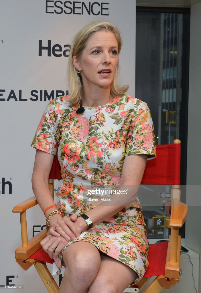 Kristin Van Ogtrop, editor of 'Real Simple' magazine attends 'Make One Simple Change' panel and breakfast at Time-Life Building on June 13, 2013 in New York City.