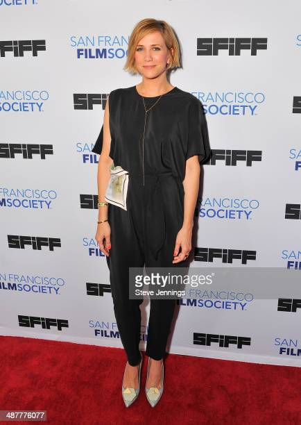 Kristin Wiig attends 'The Skeleton Twins' Premiere at the 57th San Francisco International Film Festival at Sundance Kabuki Cinemas on May 1 2014 in...