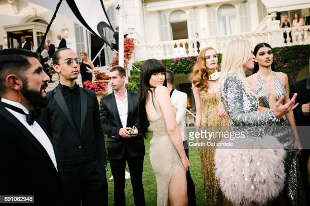Kristina Bazan attends the amfAR Gala Cannes 2017 at Hotel du CapEdenRoc on May 25 2017 in Cap d'Antibes France