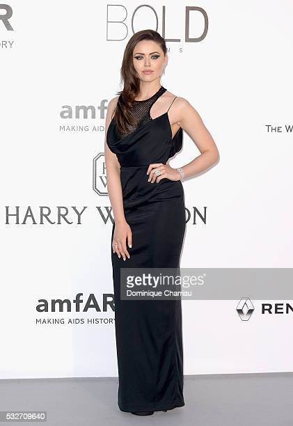 Kristina Bazan attends the amfAR's 23rd Cinema Against AIDS Gala at Hotel du CapEdenRoc on May 19 2016 in Cap d'Antibes France