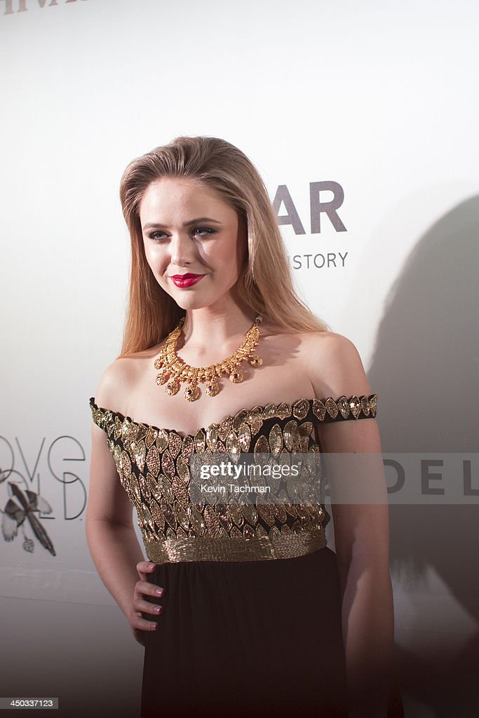 <a gi-track='captionPersonalityLinkClicked' href=/galleries/search?phrase=Kristina+Bazan&family=editorial&specificpeople=8949907 ng-click='$event.stopPropagation()'>Kristina Bazan</a> attends the inaugural amfAR India event at the Taj Mahal Palace Mumbai on November 17, 2013 in Mumbai, India.
