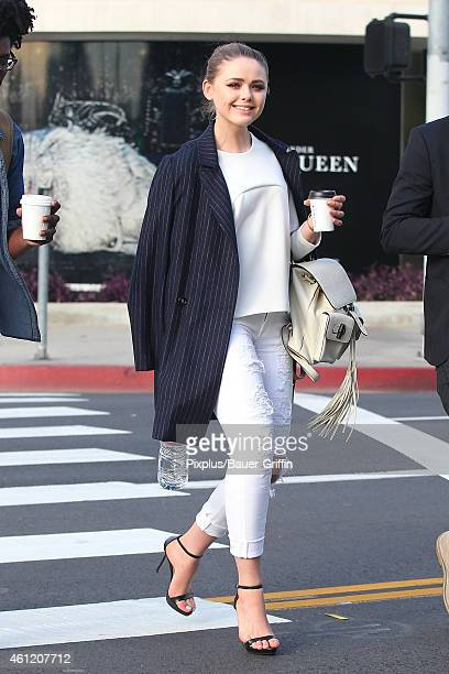 Kristina Bazan is seen on January 08 2015 in Hollywood California