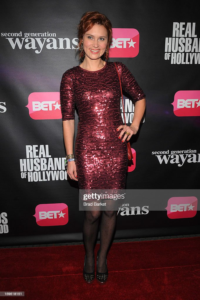 Kristina Klebe attends BET Networks New York Premiere Of 'Real Husbands of Hollywood' And 'Second Generation Wayans' at SVA Theater on January 14, 2013 in New York City.