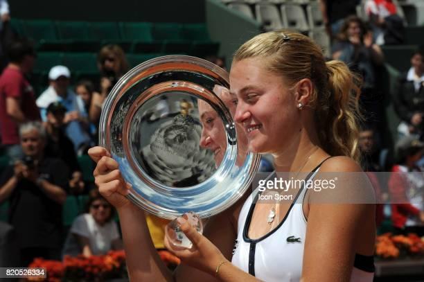 Kristina MLADENOVIC Finale Simple Junior Kristina MLADENOVIC / Daria GAVRILOVA Roland Garros 2009 Paris