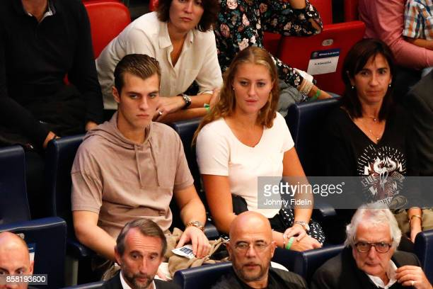 Kristina Mladenovic during the Lidl Starligue match between Paris Saint Germain and Saint Raphael on October 5 2017 in Paris France