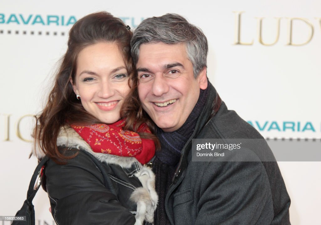 Kristina Naefe and Stephen Sikder attend Ludwig II - Germany Premiere at Mathaeser Filmpalast on December 13, 2012 in Munich, Germany.