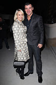 Kristina Rihanoff and Joe Calzaghe arrive at the GQ Style party on March 15 2011 in London England